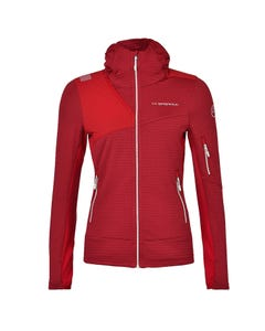 Mountaineering Mid Layer-Hoodies - Lucendro Thermal Hoody W - Woman - La Sportiva