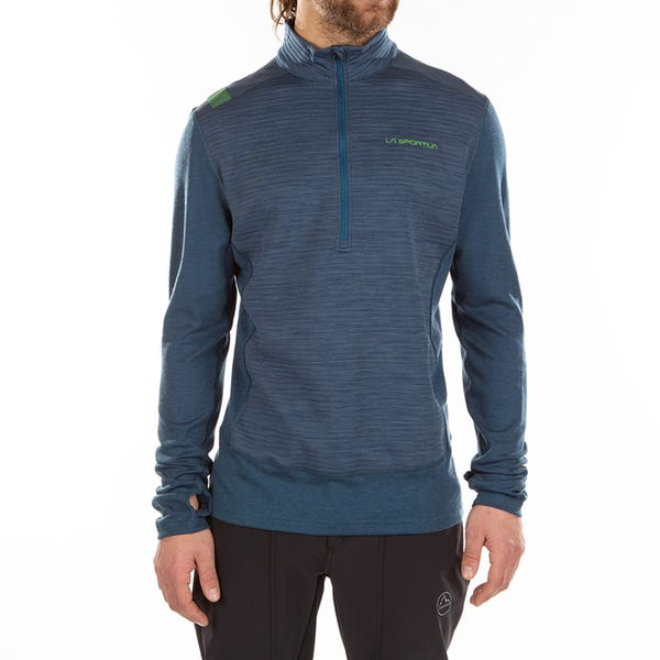 Ski Mountaineering Mid Layer-Hoodies - Rook Long Sleeve M - Man - La Sportiva