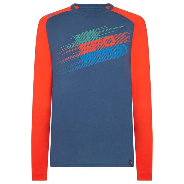 Chemises d'Escalade - Stripe Evo Long Sleeve M - Man - La Sportiva
