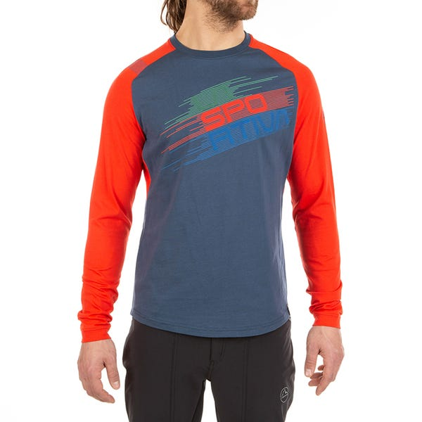 Camisas Escalada - Stripe Evo Long Sleeve M - Hombre - La Sportiva Spain