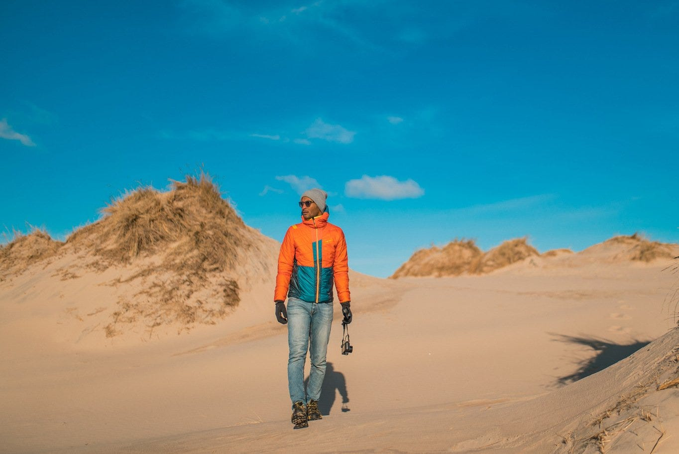 La Sportiva and Upendo Vibes, second stop: Denmark... and its Desert.
