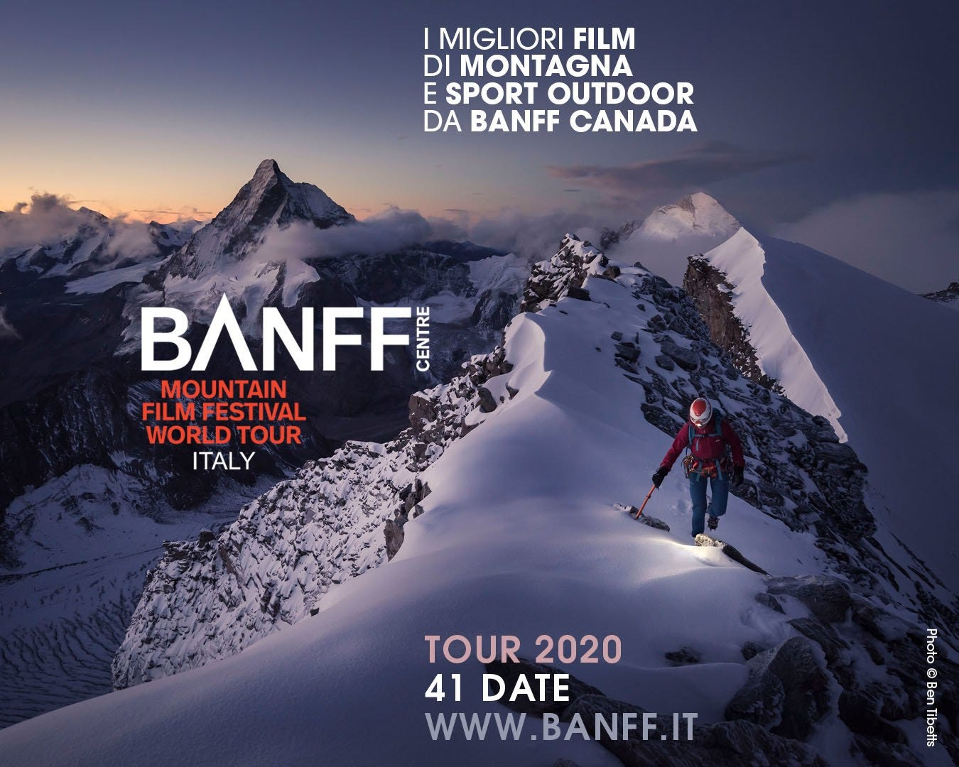 BANFF Mountain Film Festival Italy 2020: presented the official program