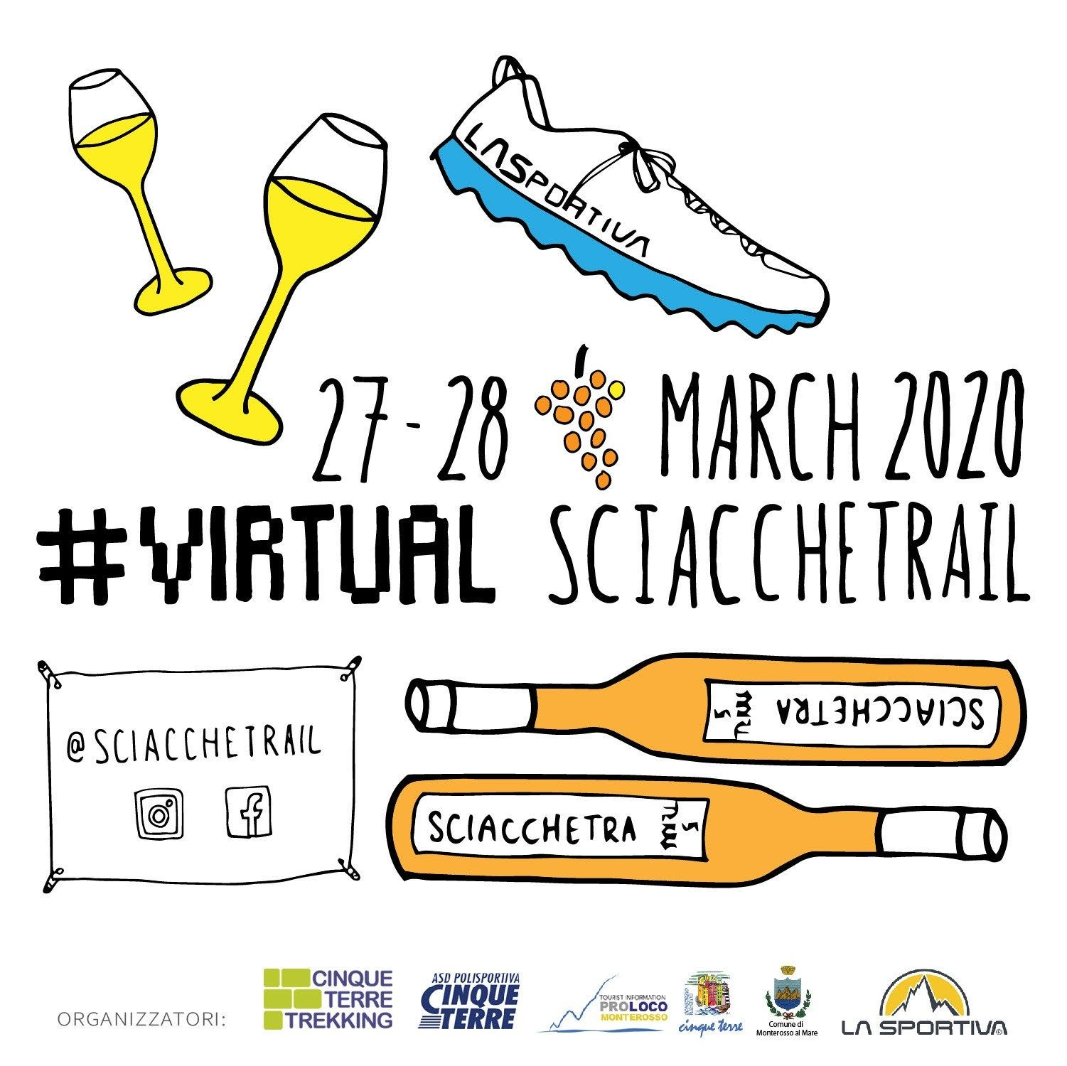 Sciacchetrail becomes virtual for the 2020 edition