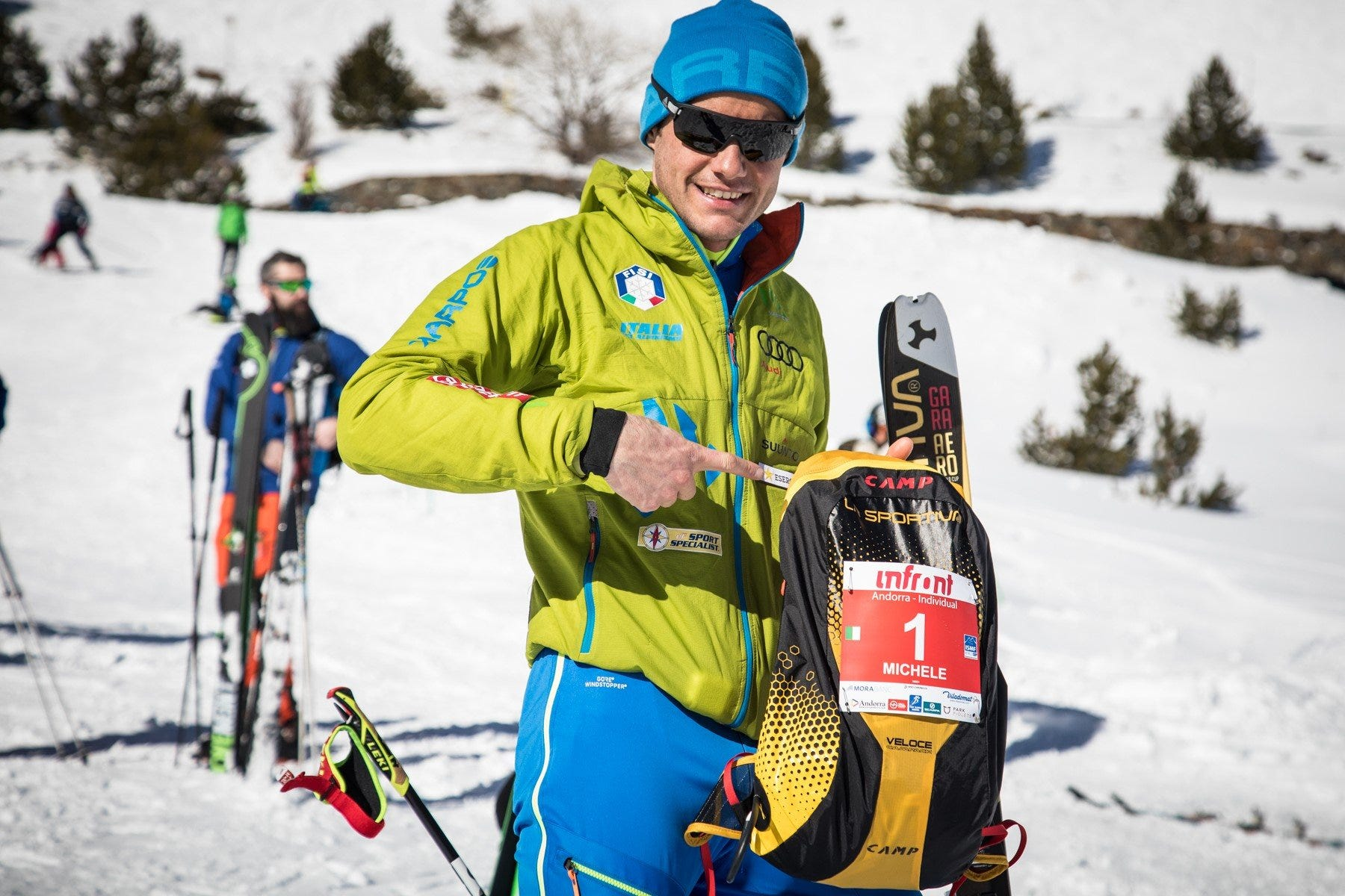 La Sportiva and CAMP on the shoulders of the skialp giants
