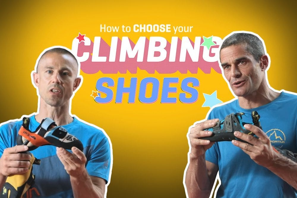 How to choose the best climbing shoes?